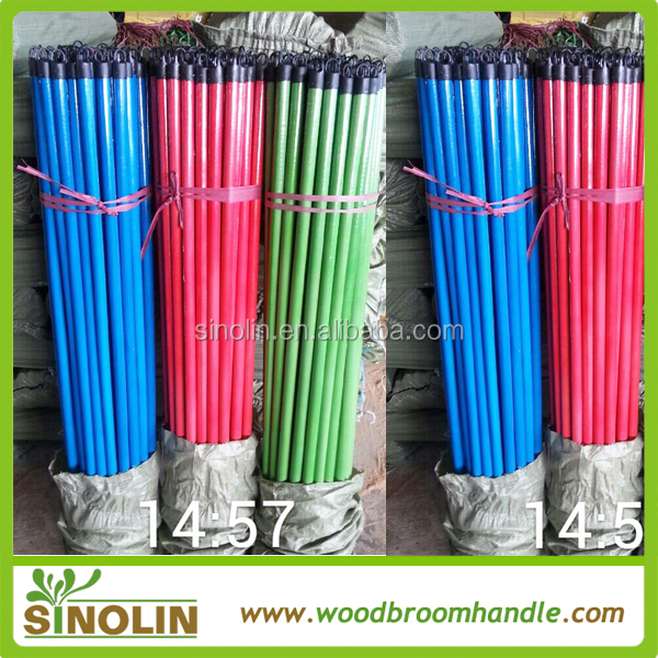 SINOLIN handles for mops,stick for mop, wooden light poles for sale