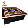 Deluxe 6/8/12 seats touch screen roulette gambling bingo casino roulette machine