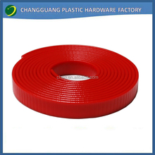 50m roll pvc coated Nylon webbing strapping in red colors