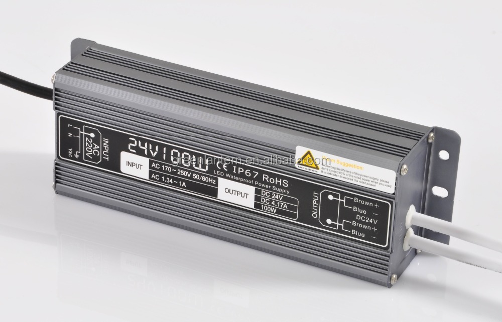 24V100W Waterproof LED Power <strong>Supply</strong>,led power transformer 100W