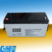 Lead acid agm battery 12v 150ah rechargeable battery long life/UPS battery