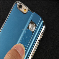Durable Shiny Cigarette Lighter Cellphone Case For iPhone 6 6s Plus Phone Case With USB Charger