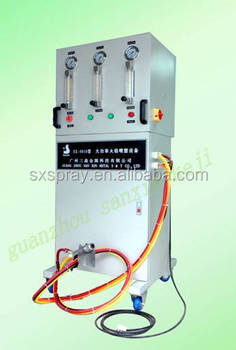 rubber coating spray from high power flame spraying machine