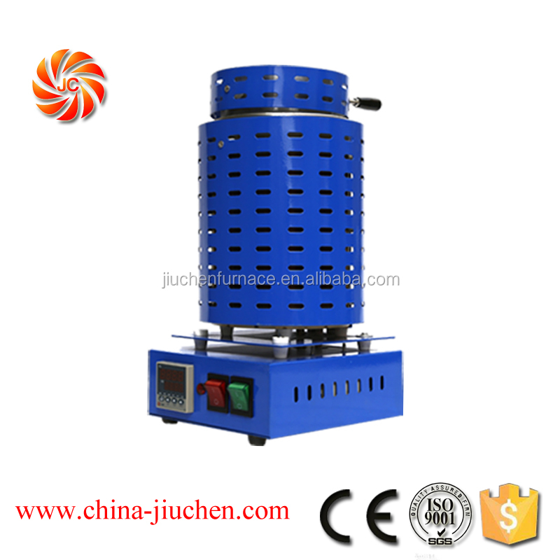 Jewelry Making Refining aluminum Melting Furnace for Precious Metals Gold Into Ingots