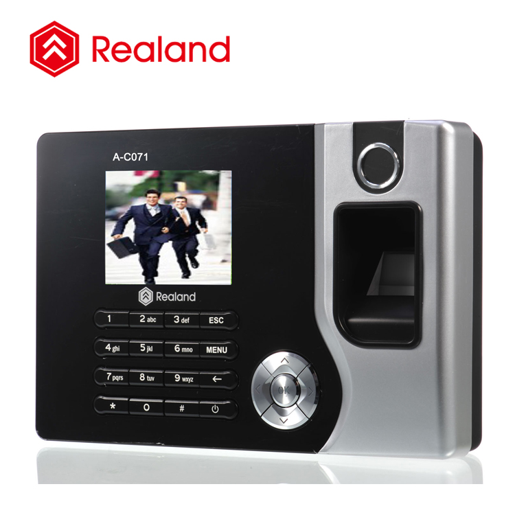 TCP/IP network fingerprint reader for time attendance Realand A-C071