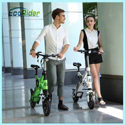 new products 2016 EcoRider high speed mini folding electric pocket bikes cheap for sale