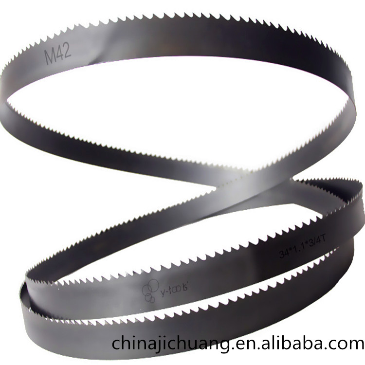 M42 34*1.1 band saw blades for cutting metal