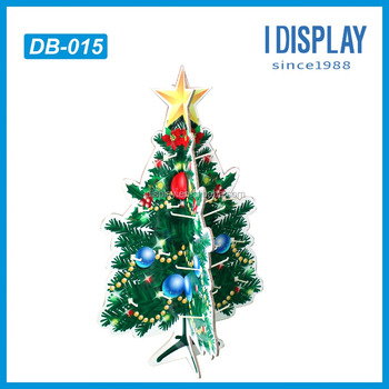 corrugated cardboard dump bin display stand rack christmas tree shape