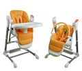 Easy folding baby feeding high chair swing with EN and ASTM approved