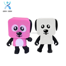 2018 Fashion Walking Wifi Wireless Mini Portable Electronic usb mini speaker,Dancing Dog Smart Robot Speaker
