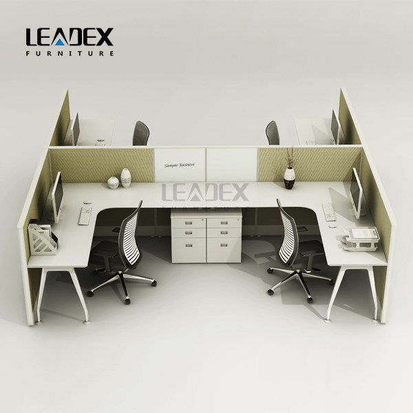 Popular open space new pictures of office furniture partitions curved in showroom