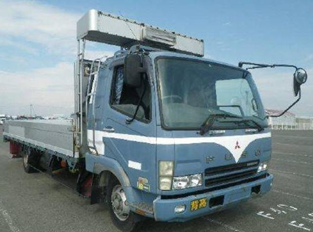 MITSUBISHI FUSO FIGHTER FLAT BED TRUCK / 3 TON