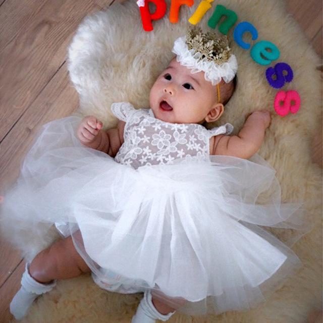 ZH1063F Toddler Girl Dress Baby Girls Princess Dresses Birthday Gift Kids Party Wear