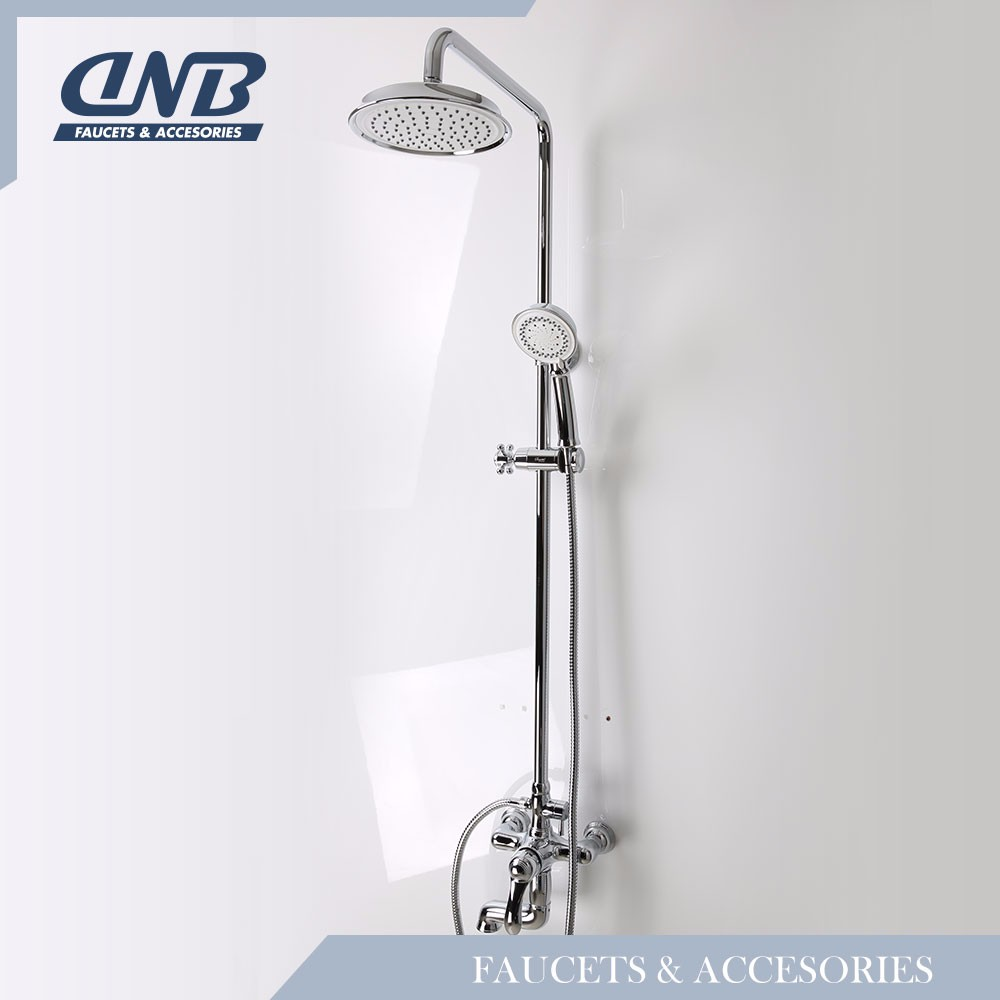 Sagetta Automatic Water Faucet Brands Double Head Rain Shower Set