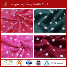 2016 hot sale hometextile used flannel fabric for blanket, bathrobe fabric, toy fabric JC04236-1
