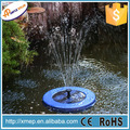 Solar powered swimming pool pumps with four LED light