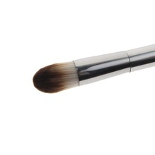 Silver Aluminium Handle Blush Double Sided Emily Makeup Brush