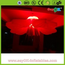 2016 new product giant inflatable flower wedding decoration