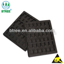 Best Price ESD Antistatic Electronic Component Tray To Prevent Damage From ESD