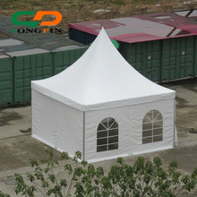 5x5 outdoor pagoda tent with table and chair for banquet