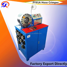 FY91A HOT NEW PRODUCTS FOR 2016! prensa hidraulica manual hose crimping machine/fitting crimping machine