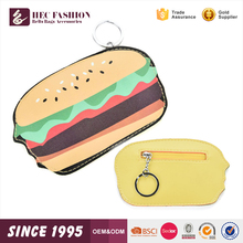 HEC China Factory Supply Free Sample Custom Color Women Money Bag Coin Wallet