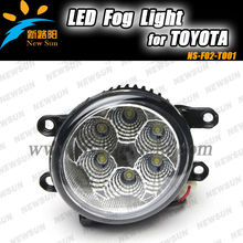 6pcs High leds*2 led car Auto light lamp led fog light for Prado, led fog light for yaris