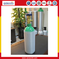 2L Portable Aluminum Gas Cylinder for Medical Gas