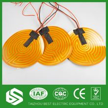 High performance polyimide heater elements for home appliance