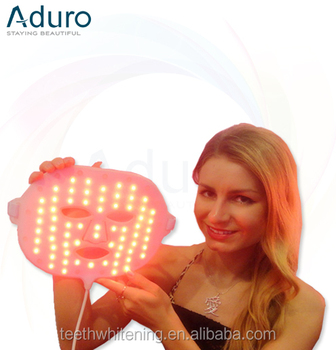 Anti wrinkle led mask light therapy facial mask