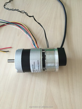 brushless dc motor 57DMW55 with brake and encoder