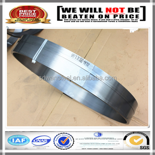 Hardened and Tempered 65Mn Spring Strip/Band Saw 6mm SUP9 Narrow Steel Strap