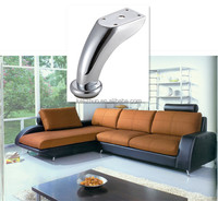 metal zinc alloy upholstered furniture leg A-181