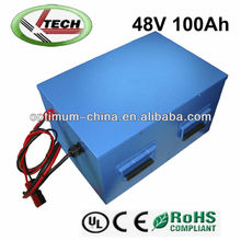 professional manufacturer of lithium iron phosphate battery pack 48V 100Ah for electric lift cars