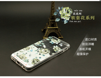 Very Cheap Flower Design Cover UV Printing 3D TPU Mobile Phone Case For iphone 6