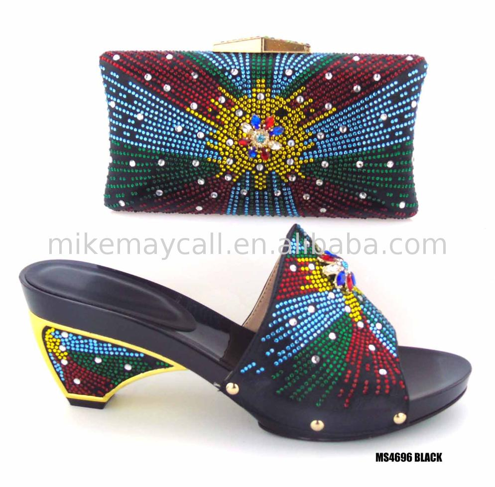 ladies wedge shoes guangzhou with matching bags small orders