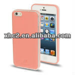 Kingpad Litchi Texture Leather Pasted Skin Plastic Case for iPhone 5