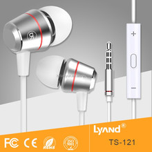 High quality earphone / long wired mobile headset /good sound music headphone