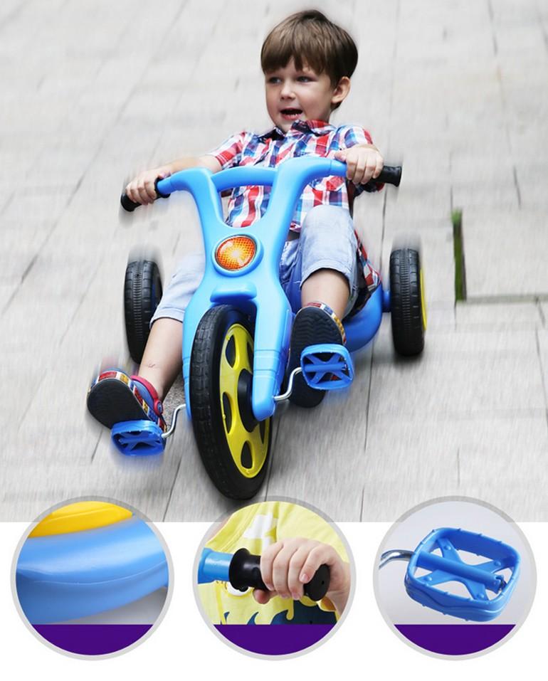 Passeio no brinquedo da bicicleta triciclo do bebê fingir design e pintura OC049340