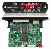 Usb Mini Sd Mp5, Mp3 ,Mp4 Player Circuit , Car Video Player