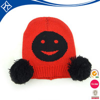 custom baby winter knit cap wholesale