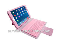 USB 3.0 Wireless Bluetooth Keyboard with Leather Case Cover for iPad Mini/Mini 2