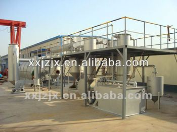 Continuous purify small oil refinery machine