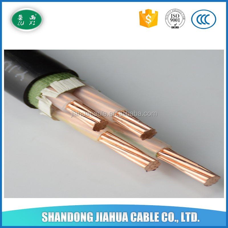 Low Smoke 4 x 6mm2 Electrical Power Cable