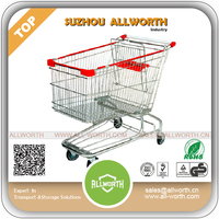 Home Decorate China Manufacturer Retail Shopping Trolley with Customized Logo