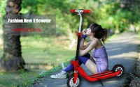 Adult design foldable and lightest electric scooter with top quality and inflatable tire