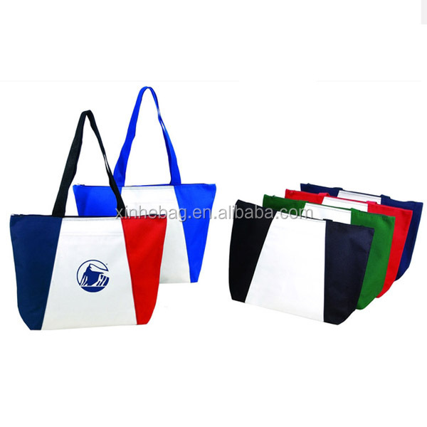 Folding Style and Polyester Material foldable shoppping bag