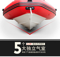 RIB boat fiberglass hull inflatable boat china rowing boat