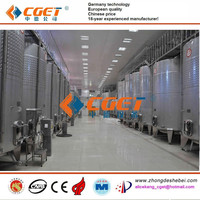 Gold supplier CE fruit wine making equipment stainless steel wine vessel fruit wine fermentation tank