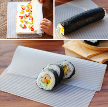 Amazon hot selling cookware rollable silicone sheet tray mat for sushi maker
